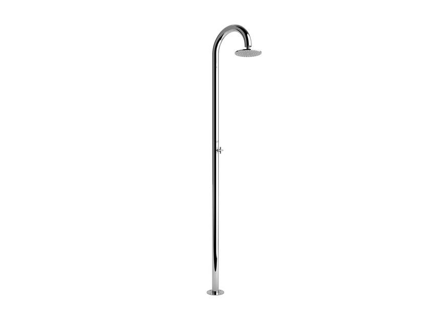 Stainless steel outdoor shower SOLE 60 S BEAUTY by Inoxstyle