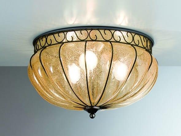 Murano glass ceiling lamp MARGHERITA MC 205 by Siru