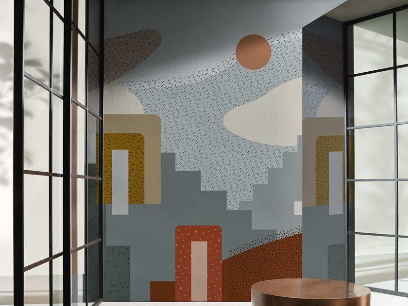 Panoramic wallpaper SOMEWHERE by Wall&decò