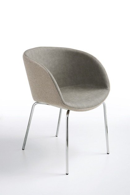 Upholstered easy chair SONNY P-MT | Upholstered easy chair by Midj
