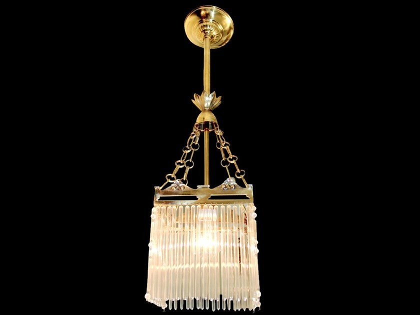 Direct light handmade brass pendant lamp SOPRON III | Pendant lamp by Patinas Lighting