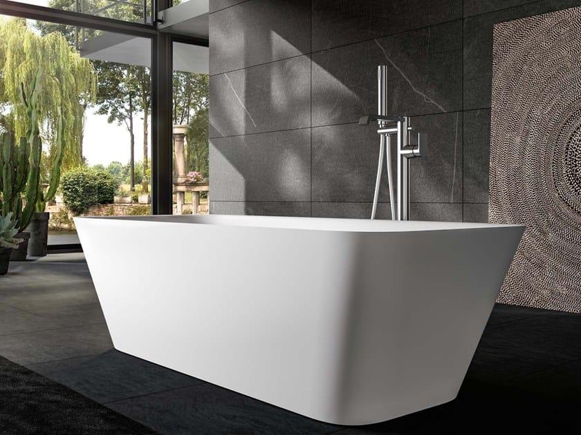 Vasca da bagno centro stanza rettangolare SOREHA F by Albatros