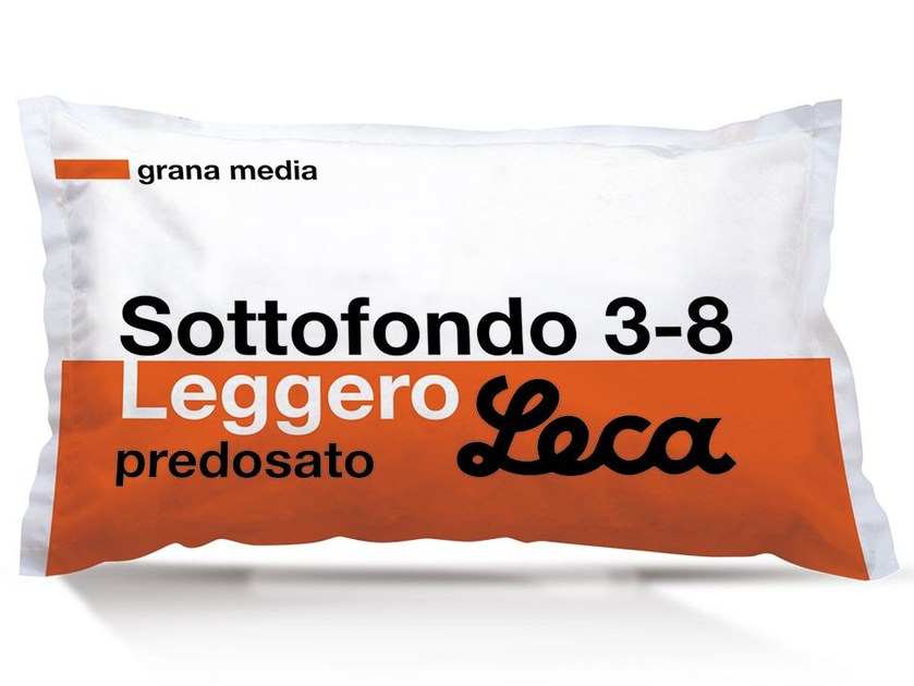 Screed and base layer for flooring SOTTOFONDO 3-8 LEGGERO by Laterlite
