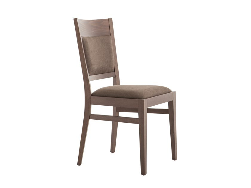Upholstered beech chair SOUL 472B.i1 by Palma