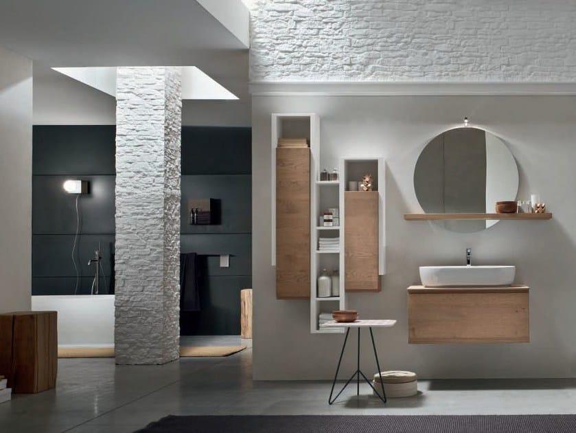 Sistema bagno componibile SOUL - COMPOSIZIONE 01 by Arcom