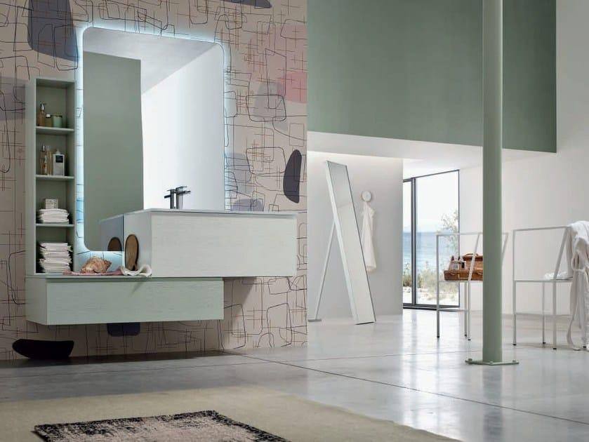 Sistema bagno componibile SOUL - COMPOSIZIONE 13 by Arcom