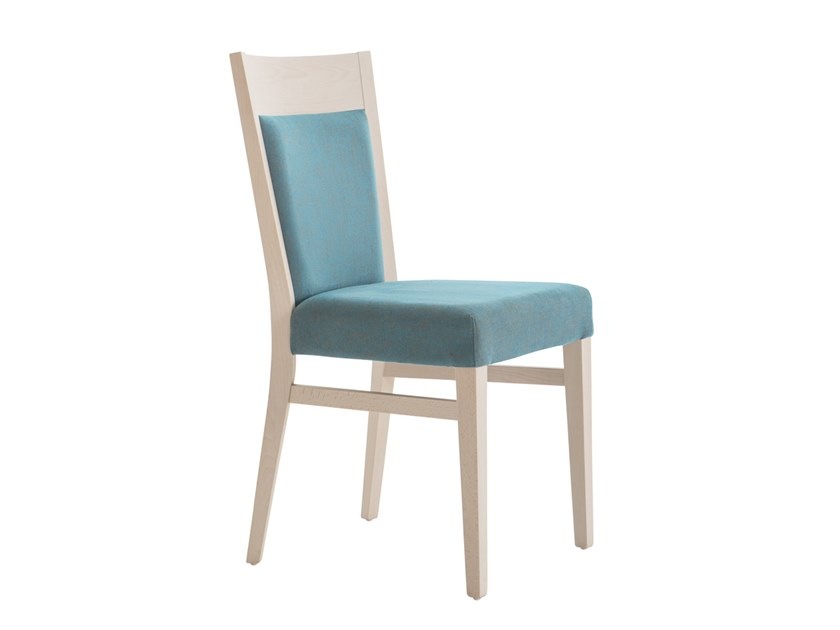 Upholstered beech chair SOUL SOFT 472E.i4 by Palma