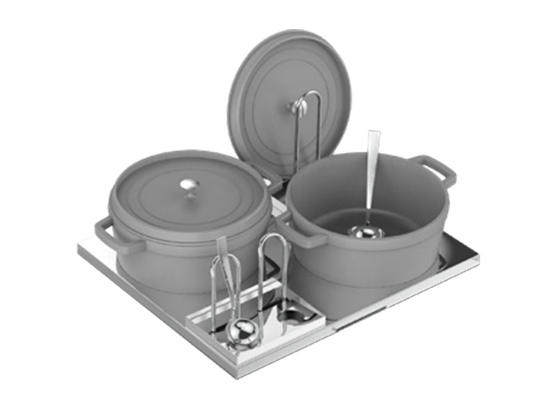 Induction Warming Top Soup top by La tavola