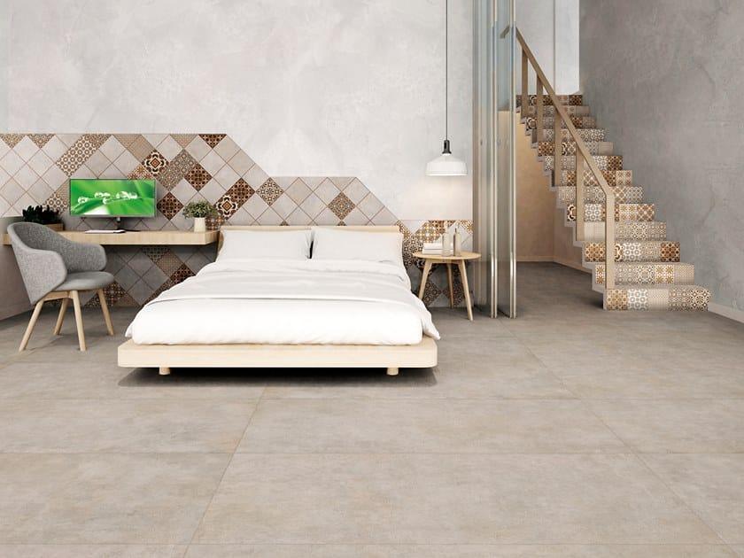 Pavimento/rivestimento in gres porcellanato per interni ed esterni SPACE BONE by La Fabbrica