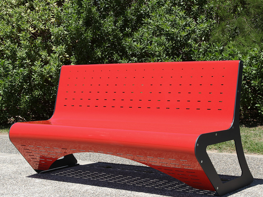 Steel Bench SPACE by CITYSì