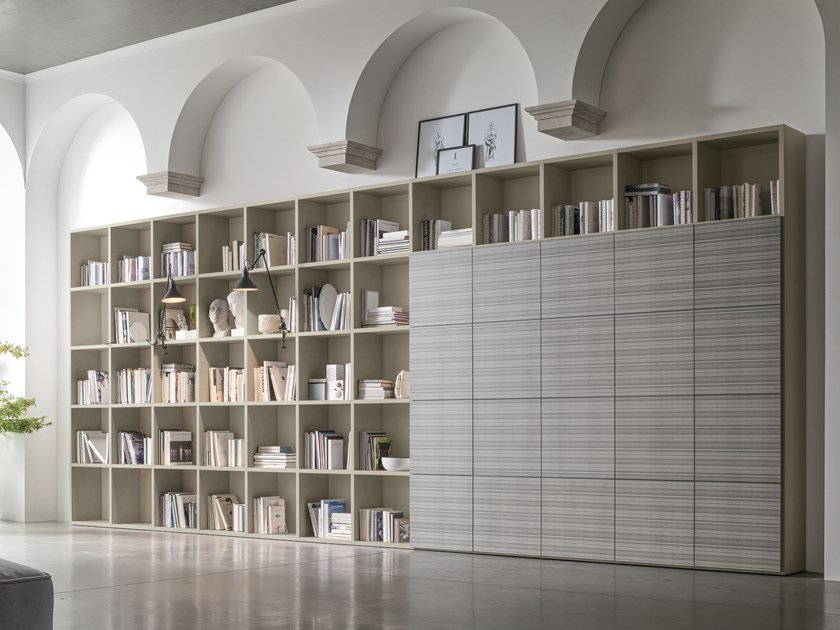 Sectional bookcase Bookcase by Gruppo Tomasella