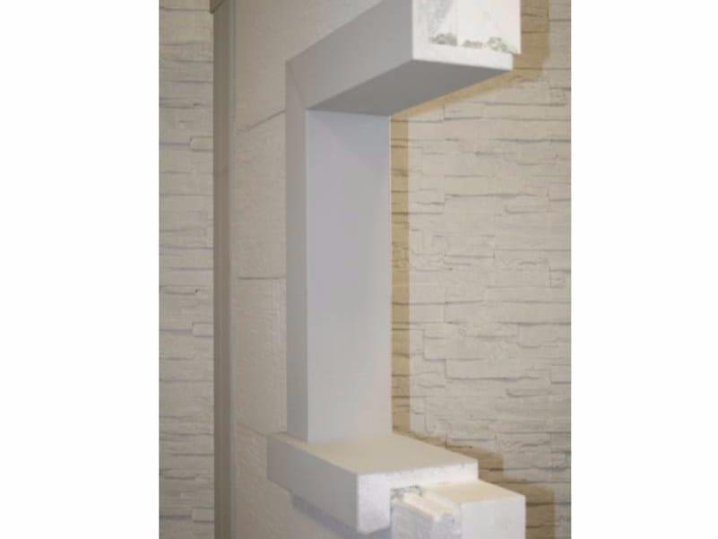 Spalletta contorno finestra per sistema a cappotto termico spalletta termica wall system - Ponte termico finestra ...