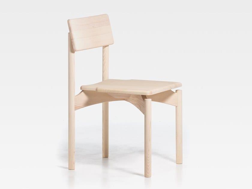 Sedia in frassino SPAM | Sedia in legno by SIPA