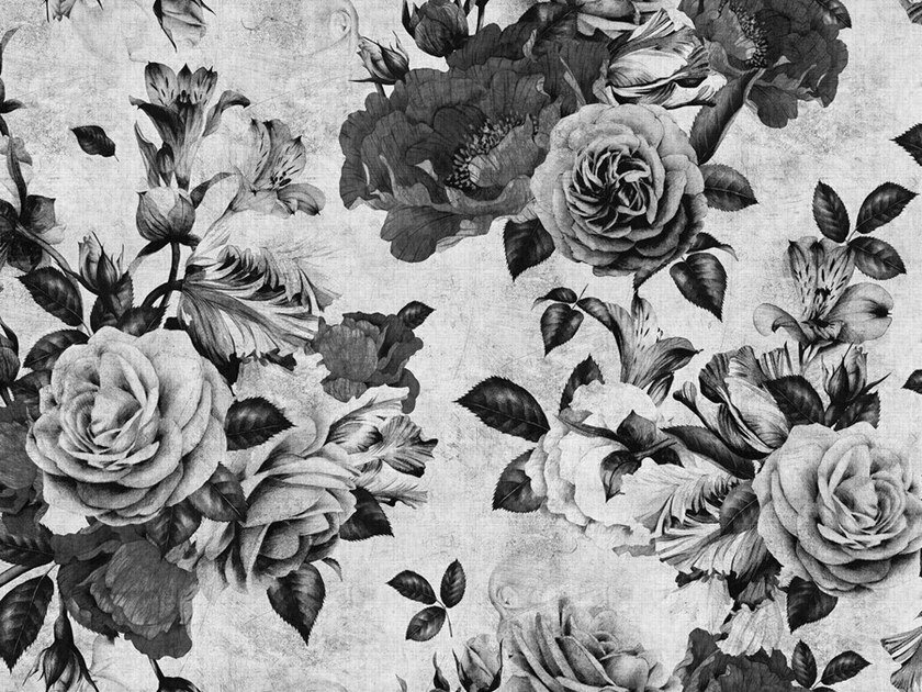 Digital printing wallpaper SPANISH ROSE by Architects Paper