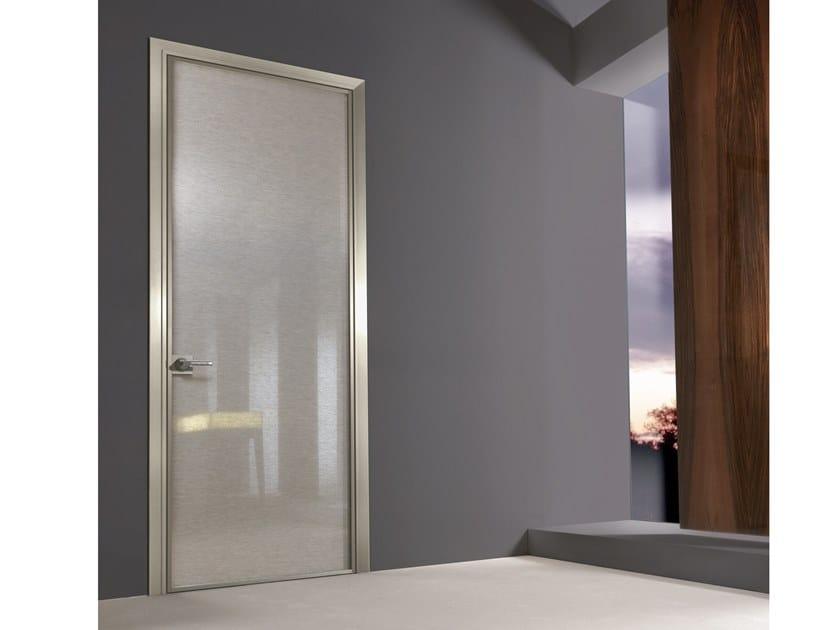Fabric glass hinged door SPARK | Door by Longhi