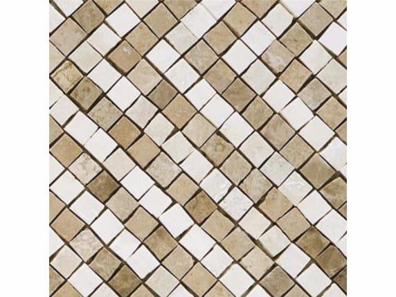 Marble mosaic SPARTA 15 by FRIUL MOSAIC