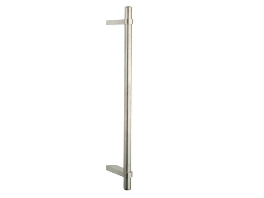 Stainless steel pull handle SPAZIO CITY by Pasini
