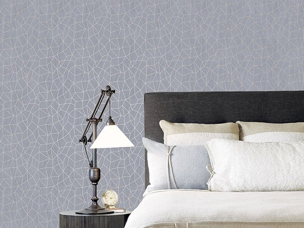 Geometric vinyl wallpaper SPECIAL | Geometric wallpaper by NANNI GIANCARLO & C.