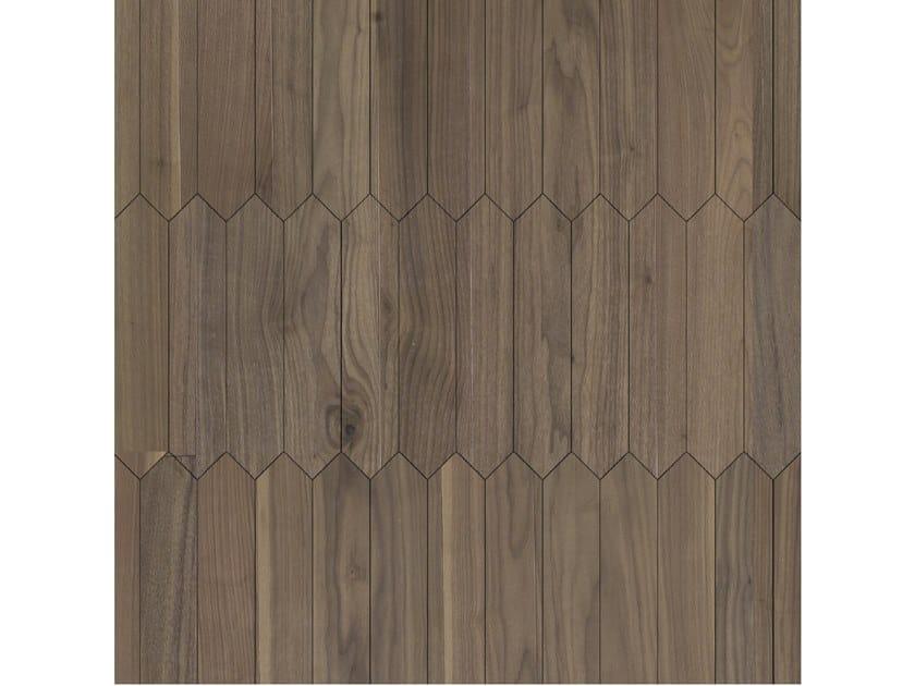 Pavimento/rivestimento intarsiato in legno per interni MODULO SPECIALE MATITA POSA 100 by FOGLIE D'ORO