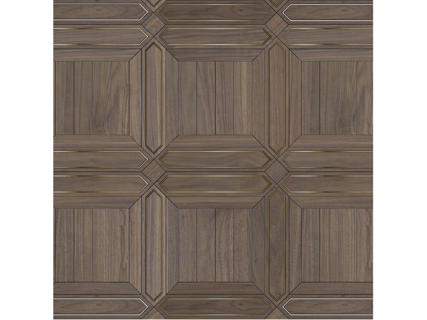 Pavimento/rivestimento intarsiato in legno per interni MODULO SPECIALE MATITA POSA 140 by FOGLIE D'ORO