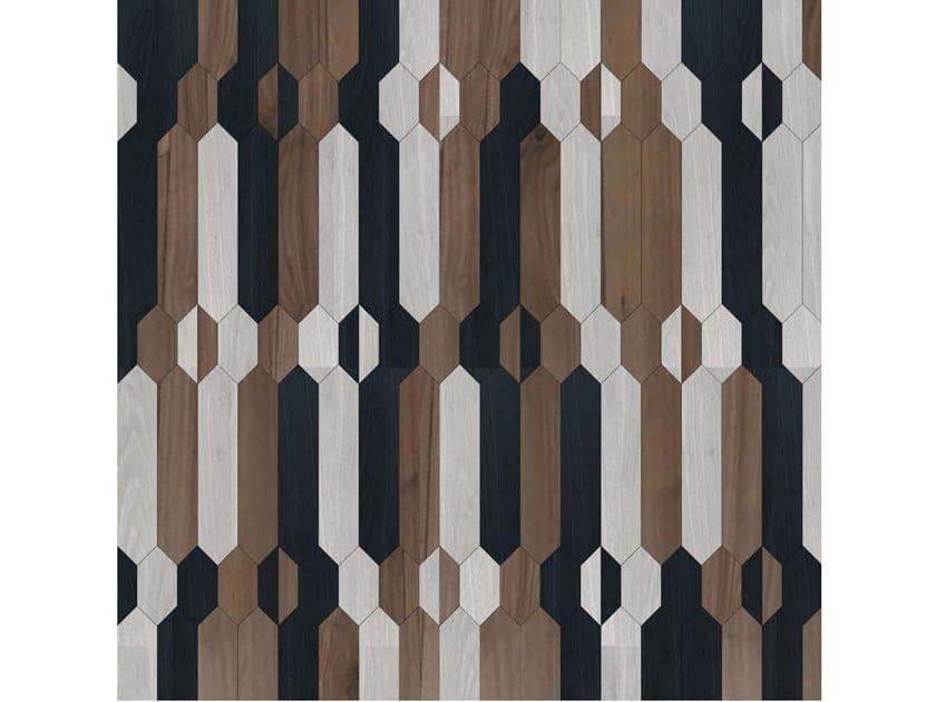 Pavimento/rivestimento intarsiato in legno per interni MODULO SPECIALE MATITA POSA 171 by FOGLIE D'ORO