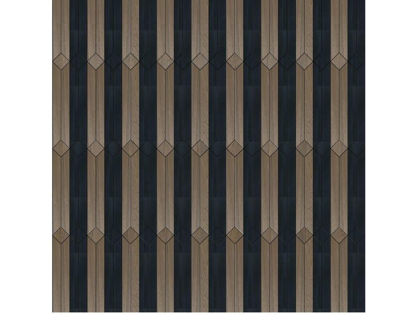 Pavimento/rivestimento intarsiato in legno per interni MODULO SPECIALE MATITA POSA 211 by FOGLIE D'ORO
