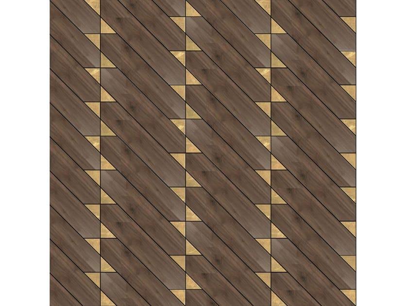 Pavimento/rivestimento intarsiato in legno per interni MODULO SPECIALE MATITA POSA 230 by FOGLIE D'ORO