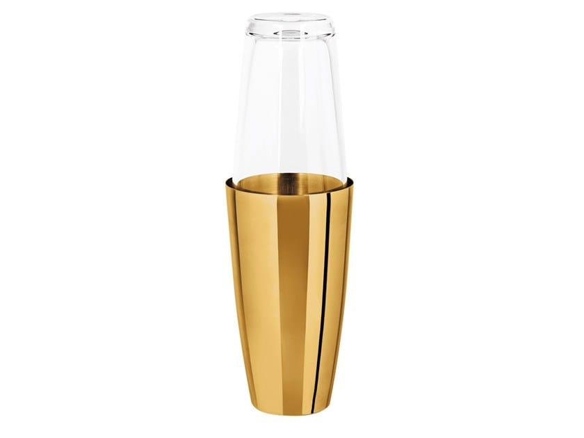 Shaker in acciaio inox e vetro BOSTON by Sambonet