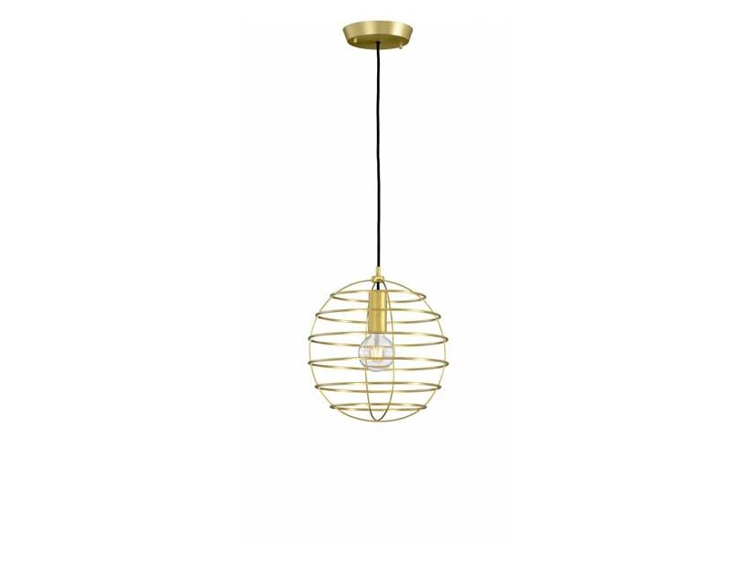 Metal pendant lamp SPHERE 35 | Pendant lamp by fambuena