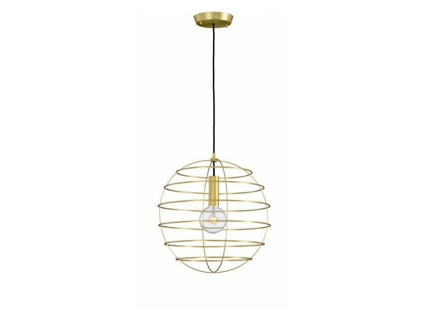 Metal pendant lamp SPHERE 50 | Pendant lamp by fambuena