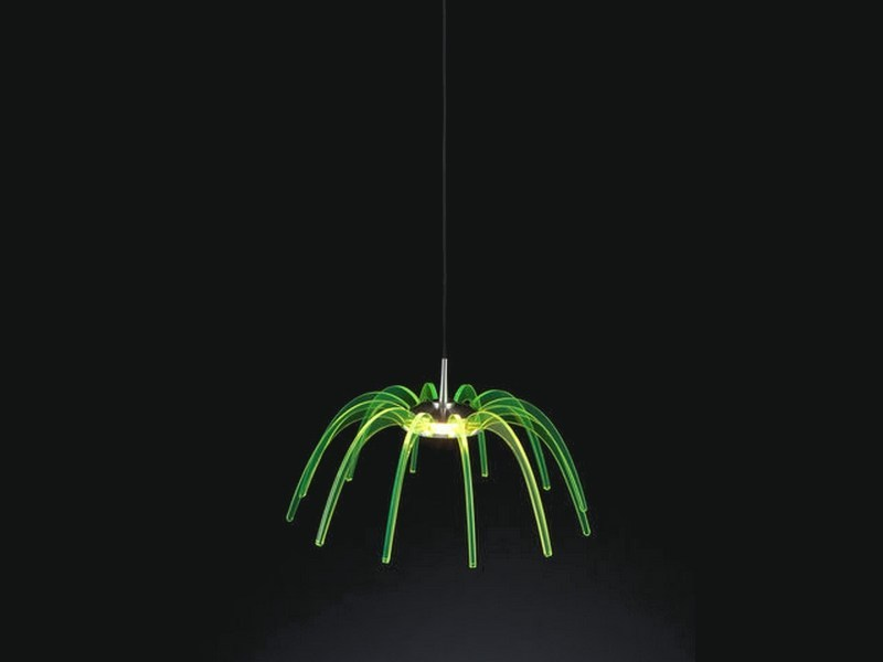 LED PMMA pendant lamp SPICA 30 by Quasar