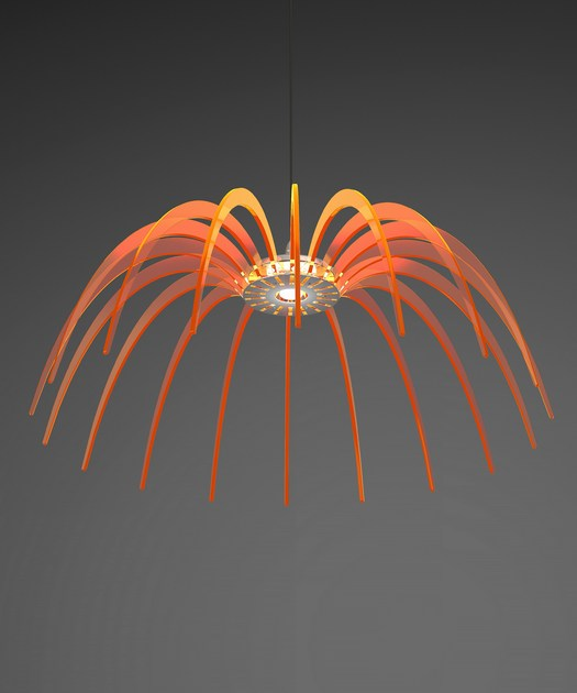 LED PMMA pendant lamp SPICA 120 by Quasar