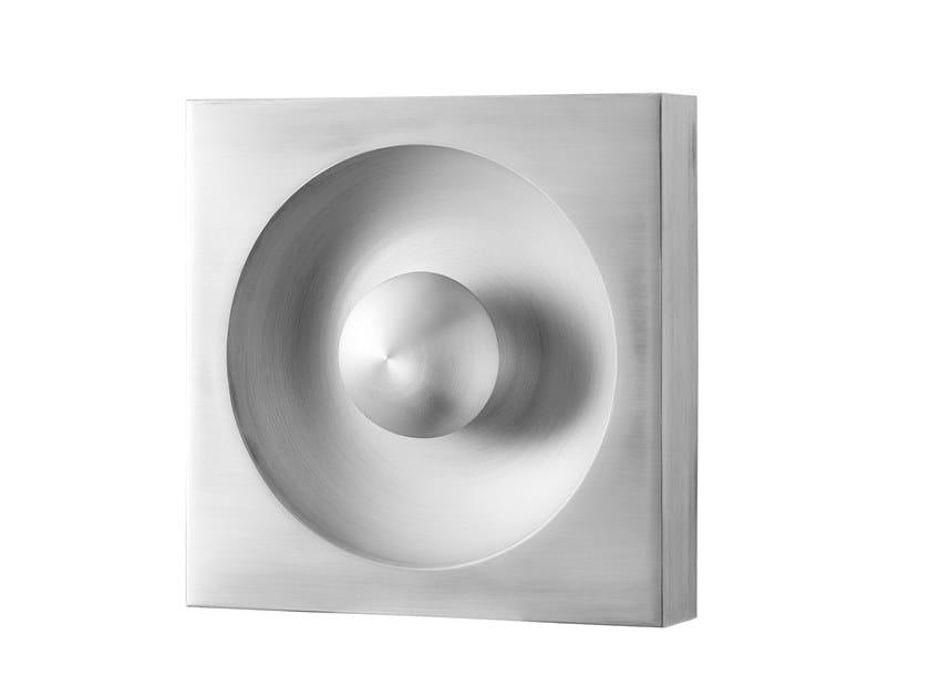 Aluminium wall lamp / ceiling lamp SPIEGEL by Verpan