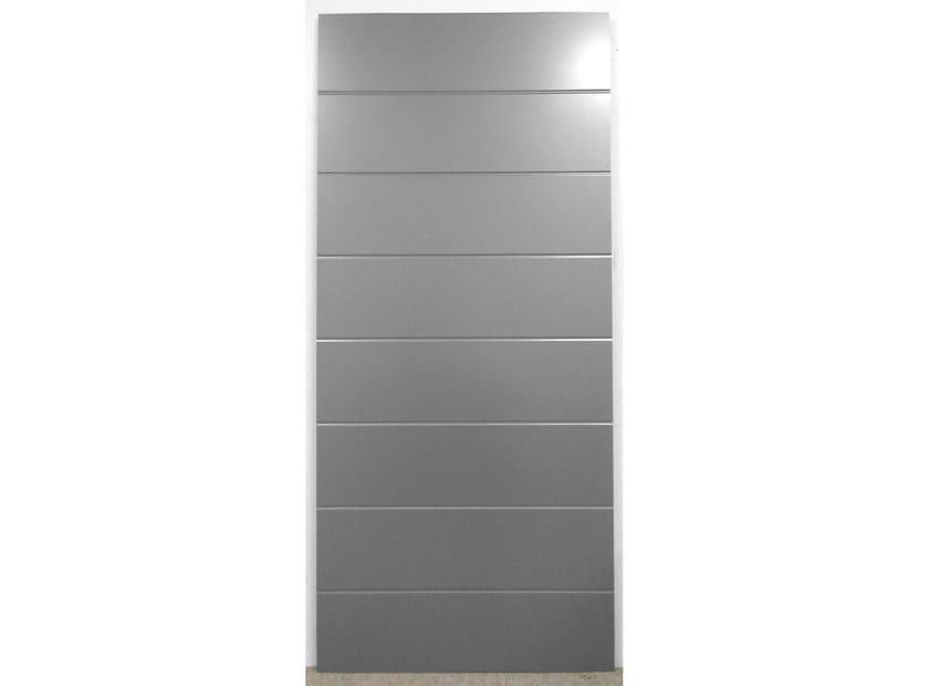 Aluminium armoured door panel SPIGA/KF by ROYAL PAT