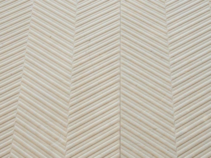 Pavimento/rivestimento in pietra naturale SPIGATO BEIGE by TWS