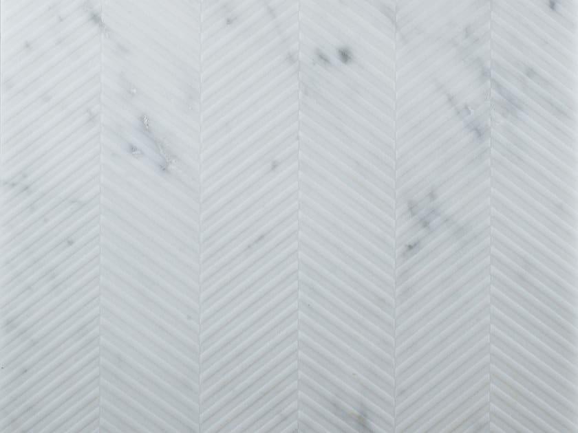 Marble wall/floor tiles SPIGATO CARRARA by TWS
