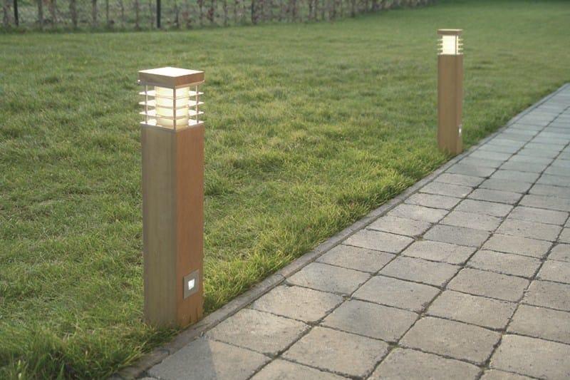 Paletto luminoso in acciaio inox SPIRIT KFL LED by BEL-LIGHTING