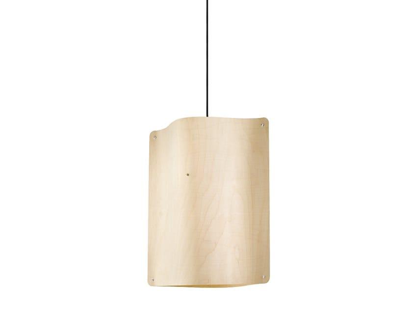 Lampada a sospensione a LED in multistrato SQUARE PENDANT LARGE by Finom Lights