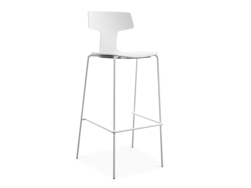 High stackable polypropylene stool SPLIT 3A by COLOS