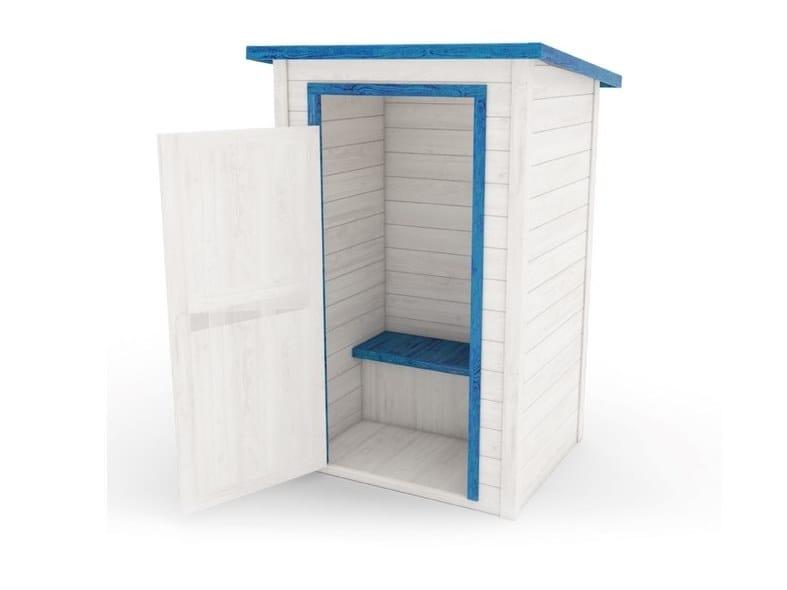 Fir Garden shed SPOGLIATOIO by Zuri Design