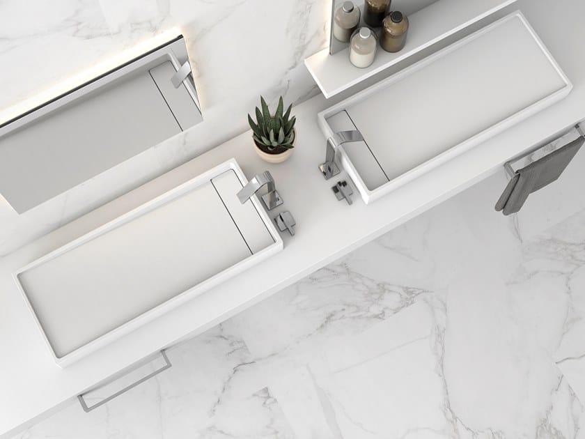 Lavabo da appoggio rettangolare SPOT | Lavabo rettangolare by Hidrobox