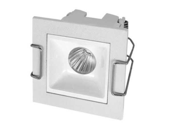 LED square recessed aluminium spotlight NIXE | Spotlight by LED BCN
