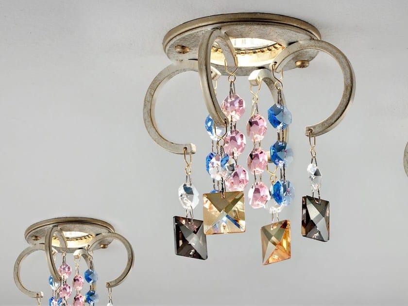 Round recessed painted metal spotlight LIZZI | Spotlight by Masiero