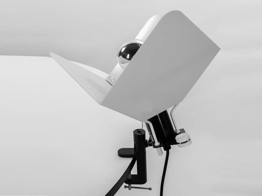 Adjustable clamp metal spotlight TRIEDRO   Spotlight by Stilnovo