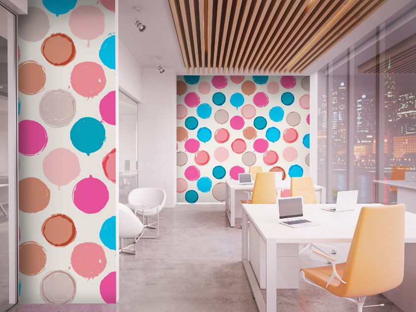 Dotted wallpaper SPOTS by Wall LCA
