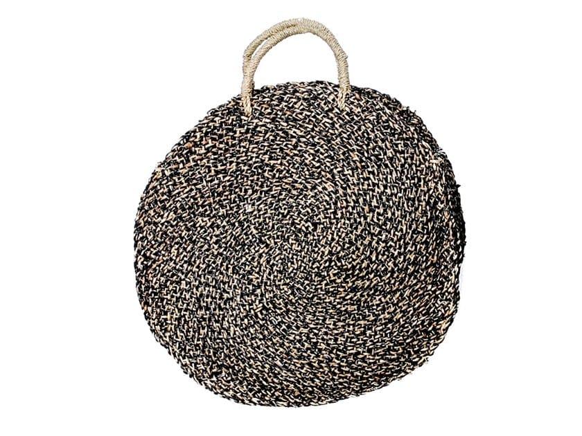 Natural fibre bag SPOTTED ROUNDI by Bazar Bizar