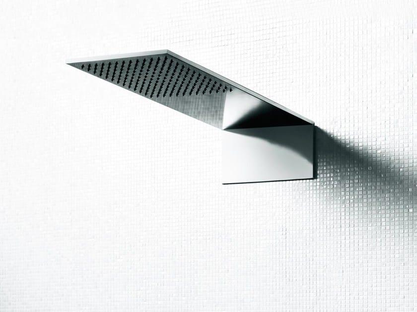 Soffione doccia a muro in acciaio inox UNI | Soffione doccia by Boffi