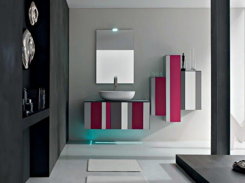 Sistema bagno componibile SPRING - COMPOSIZIONE 3 by Arcom