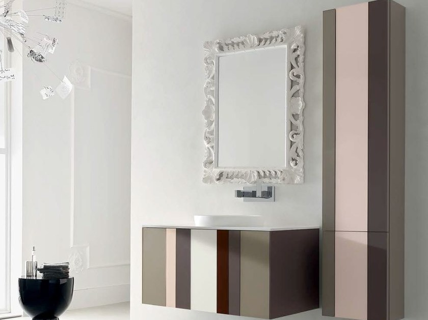 Bathroom cabinet / vanity unit SPRING - COMPOSITION 6 by Arcom
