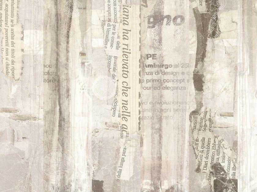 Fire retardant writing nonwoven wallpaper SPRING by Tecnografica Italian Wallcoverings